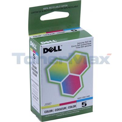 DELL 924 SERIES 5 PRINT CARTRIDGE COLOR